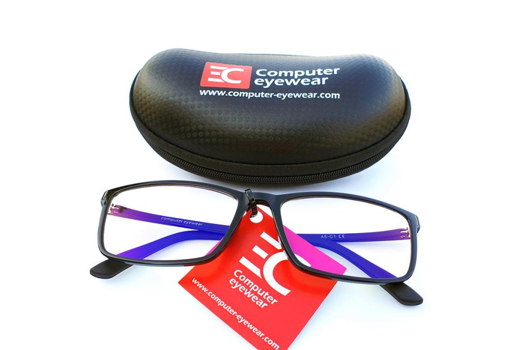 Naočare za kompjuter sa futrolom